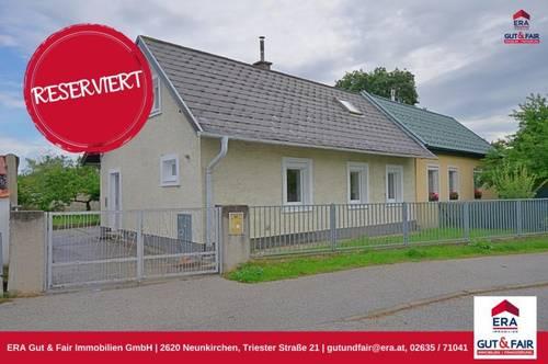 RESERVIERT! Kleines Miethaus mit Garten in Wr. Neustadt