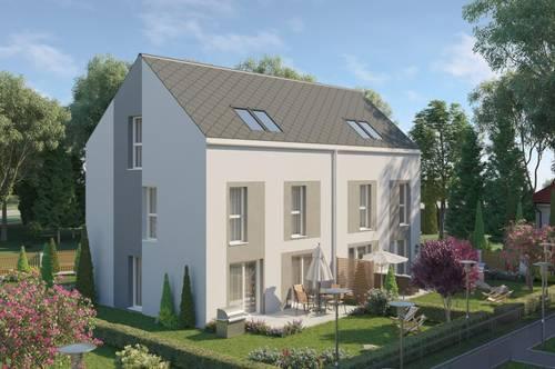 Moderne Doppelhäuser auf Eigengrund in Fischamend, wunderschöne Lage durch die Nähe zur Natur, gute Infrastruktur