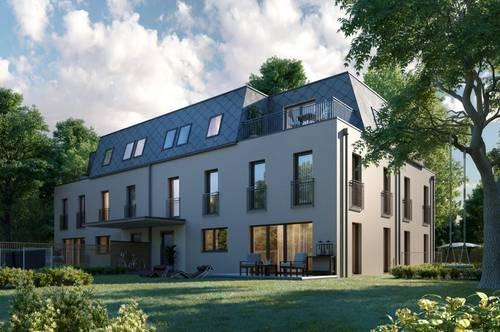 Moderne Doppelhäuser im Zentrum von Hinterbrühl mit großen Garten und guter Infrastruktur
