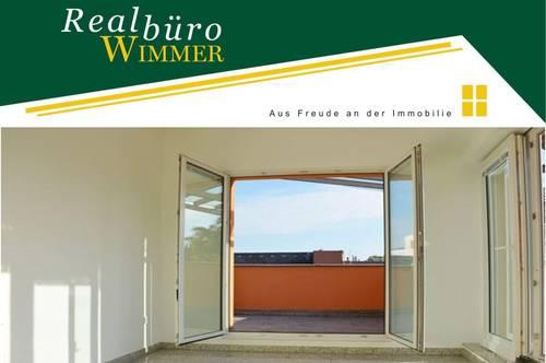 Klimatisiertes Büro mit Dachterrasse