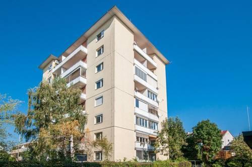 Modernisierte Dreizimmerwohnung mit Südloggia