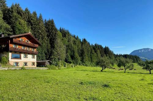 Landhaus mit Potenzial in sonniger Panoramalage