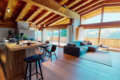 Design Dachgeschosswohnung mit Panoramablick