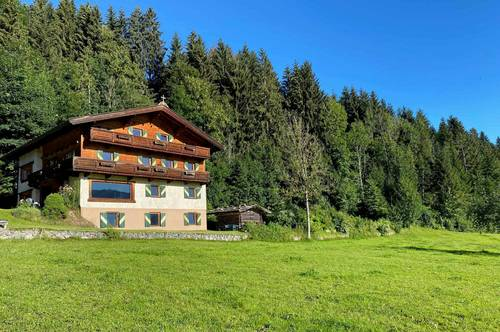 Haus in sonniger Lage mit Panoramablick
