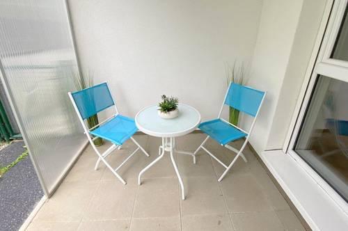 Moderne, neuwertige und lichtdurchflutete 3-Zimmer Wohnung mit Garten