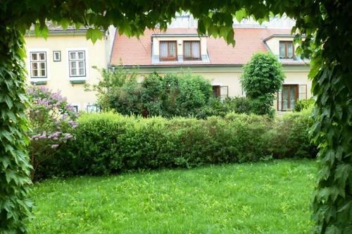 Mitten in der Stadt--mit Terrasse im Grünen!