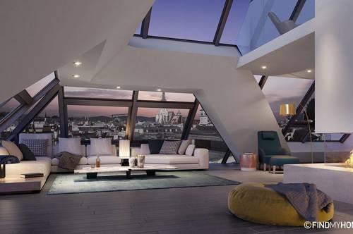 Großzügiges Luxus Penthouse mit hauseigenem Weinkeller