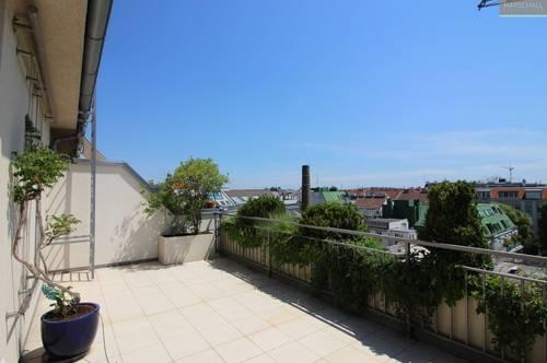 Penthousewohnung mit Terrasse und Garagen in Toplage