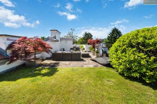 Elegante Dachgeschosswohnung mit wunderschönem Dachgarten