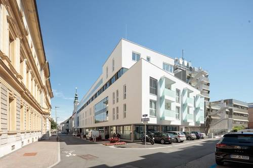 VITANEUM - Leben im Zentrum LETZTE Terrassenwohnung am Benediktinermarkt 120m2 Terrasse ! ! !