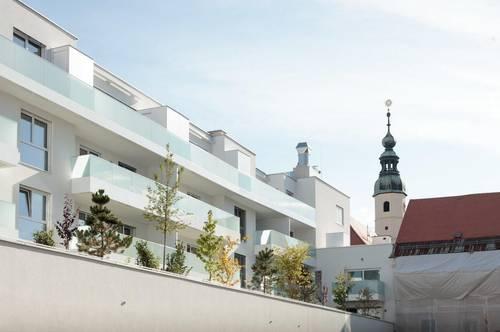 Leben am Benediktinermarkt  Innenstadtwohnung mit Garten