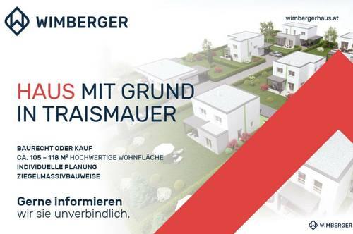 Ziegelmassivhaus mit Grund in Traismauer - Haus 1