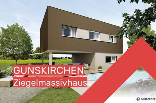 """Wimberger Ziegelmassivhaus """"alea®"""" CUBIC 1"""