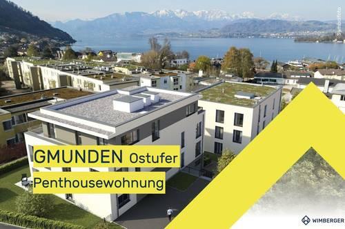 """Exklusive Neubauwohnung in GMUNDEN - Haus """"Berg"""" Top 9 PENTHOUSE"""