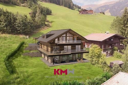Zweitwohnsitz, Neubau - Gartenwohnung in sonniger Aussichtslage