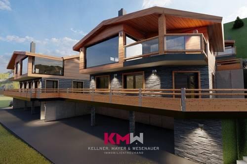 RESERVIERT! Ankündigung! Projektiertes Neubau-Chalet, mit Zweitwohnsitz-/Freizeitwohnsitzwidmung in sonniger Aussichtslage. Nähe Zell am See - Kaprun