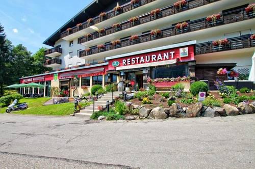 Ideal zum Einstieg in die Selbstständigkeit: Restaurant mit Küche und 3 Zimmerwohnung im Hotel in Hirschegg / Kleinwalsertal