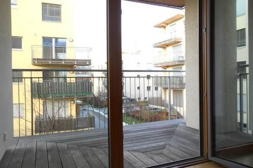 Reininghaus Süd Peter Rosegger 3ZI West/ Balkon ruhig,ökologisch in Massivholz/Lehmbauweise TG