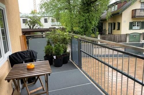 Herrnau/Lederwaschgasse: Balkon - moderne Küche - komplett saniert!