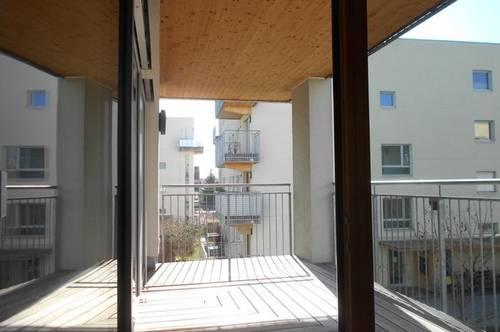 Reininghaus Süd  Peter Rosegger  sonnige 3ZI mit Balkon ruhig,ökologisch,familienfreundlich TG