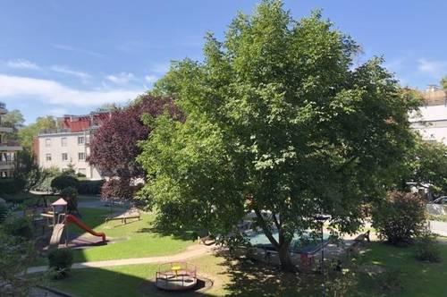 Ruhelage im Grünennette 3ZI mit 10m² Balkon zentral gelegen an der Murnahe UNI`s