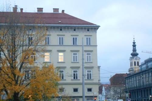 ANderMUR  Südtirolerplatz- Kunsthaus großzügige 5 ZI klassischer Altbau barrierefrei,unbefristet