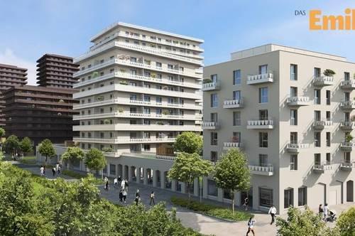 Q5 am PARK  DAS EMILIE Haus JP 8.und letztes OG  mit 27m² S/W Balkon Reininghaus Gründe