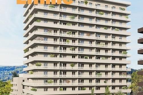 Q5 am PARK  DAS EMILIE Haus PETER Traumblick 3ZI 14./ letztes OG mit 25m² Balkon  Reininghaus Gründe