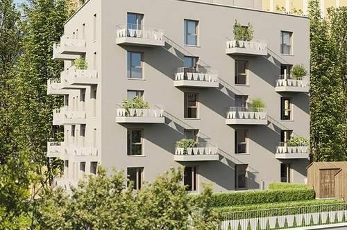Q5 am PARK  DAS EMILIE Haus THERESE sonnige 3ZI 2Balkone S/W Generationen-Wohnen Reininghaus Gründe