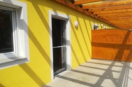 Nähe Feldbach<br />sonnige 3ZI+20m² Terrasse<br />Carport<br />BARRIEREFREI!