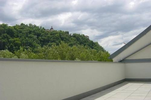 LENDKAI: Penthouse gefällig? Lift - 2 Terrassen mit 57 qm - Schloßbergblick u.v.m.
