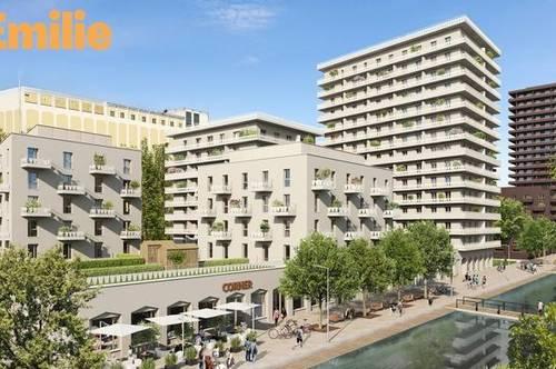 Q5 am PARK  DAS EMILIE Haus JP großartige 2ZI mit Balkon Reininghaus Gründe