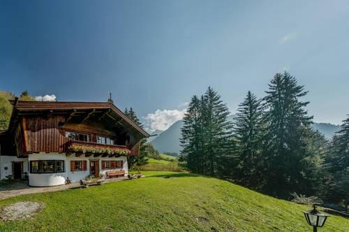 Historisches Anwesen in Höhenlage von Aurach bei Kitzbühel