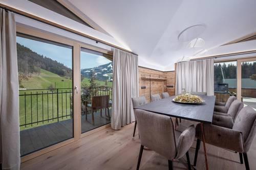 Luxuriöses Chalet mit Blick über Westendorf