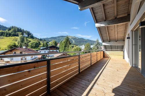 Wohnen über den Dächern Ellmaus - Premium Dachgeschosswohnung
