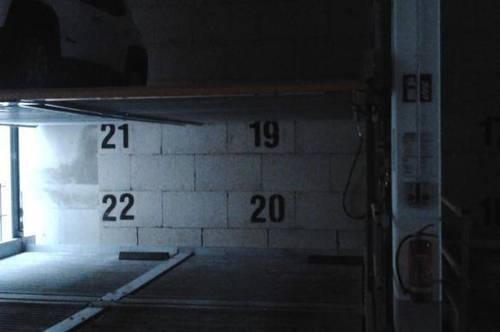 Abstellplatz in der Tiefgarage