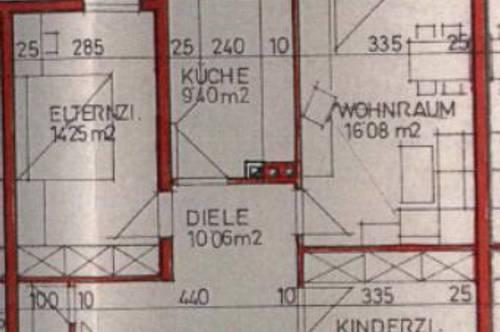 Ideal aufgeteilte 3-Raumwohnung in Hörsching!