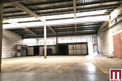 Produktions- und Lagerhallen