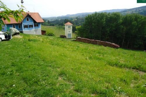 Baugründe in den Weinbergen mit herrlicher Süd-Westausrichtung