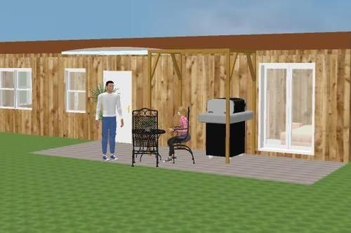 TINY-Home (MOBIL) PÄRCHEN- od. KLEINFAMILIEN-BUNGALOW mit 33m² Nutzfläche