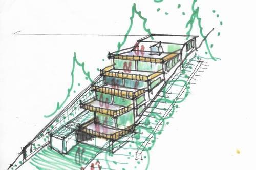 Großzügig angelegte, provisionsfreie 85m² Neubau-Eigentumswohnung mit großer Dachterrasse in Hainfeld