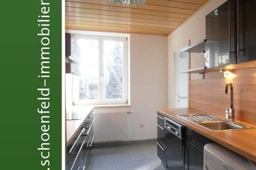 Idylle am Bach: Zentrumsnahe 3-Zimmer-Wohnung in Grünruhelage