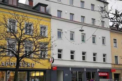 Erstbezug: Mitten in der City - mitten im Leben! Moderne Singlewohnung mit Schlafzimmer