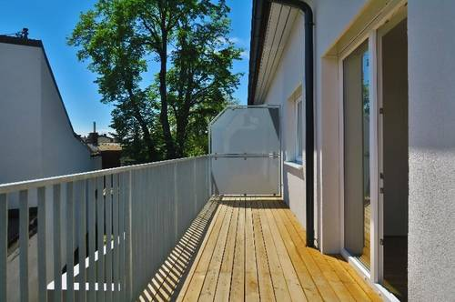 Moderne Singlewohnung mit 12qm Balkon