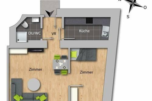Generalsanierte Altbau-Wohnung in zentraler Lage