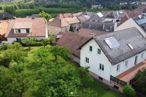 NEU AM MARKT - im Herzen der Wachau - Wohnhaus mit sonnigem Garten und vielen Extras