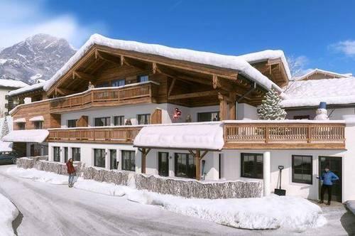 Appartement im traditionellen alpinen Stil