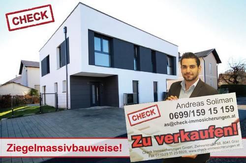 Neubau-Doppelhaushälfte mit Garten und 2 Badezimmern - ERSTBEZUG!