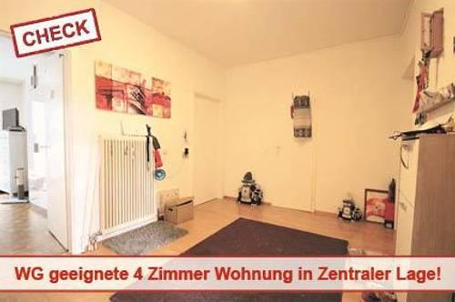3 Zimmer Wohnung in Zentraler Lage mit 2 Balkone!