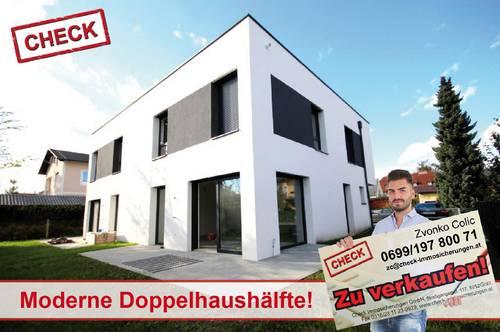 Noch ein freies Haus! Neubau-Doppelhaushälfte mit Garten - ERSTBEZUG!